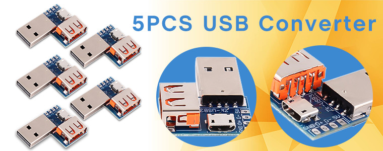 0_13440_Standard USB Female to Male Converter