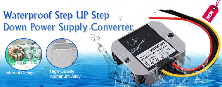 0_Waterproof Step UP Down Power Supply Module_GY16684