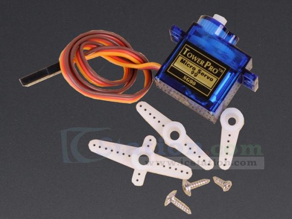 B1174 sg90 9g micro servo motor rc robot helicopter for Micro servo motor arduino