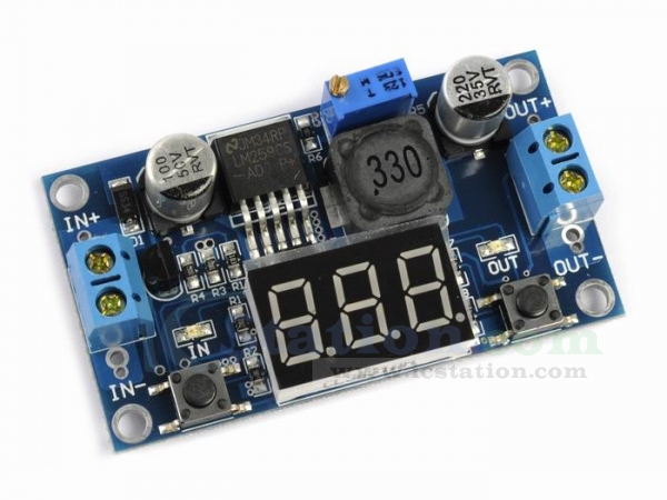 DC-DC Converter Power Supply with Voltmeter Real UK Stock 1.25-37V Output