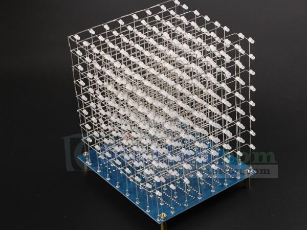 Cube 8x8x8 3d Lightsquared 8x8x8 Led Cube