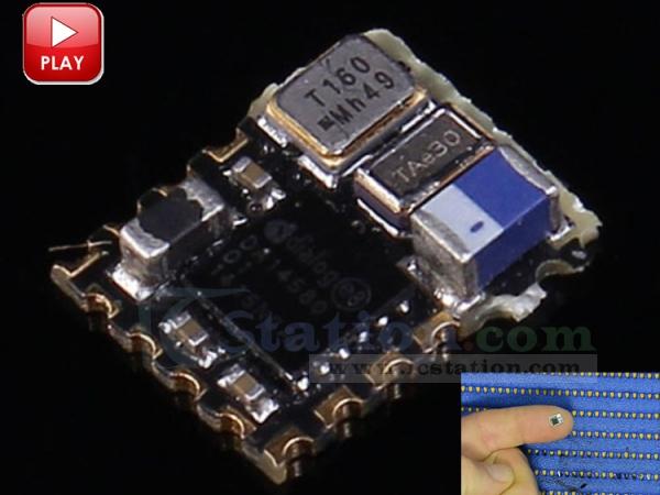 HJ-580LA Micro Bluetooth 0 85V-2 2V BLE Module with Antenna (No Code