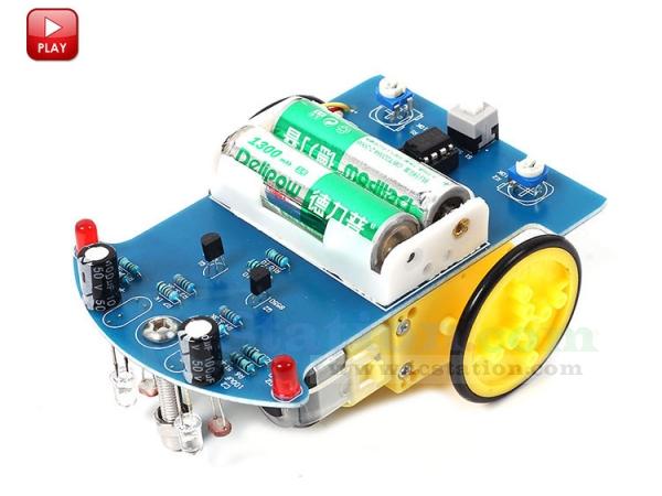 D2-1 Intelligent Tracking Line Smart Car Suite DIY Kits TT Motor