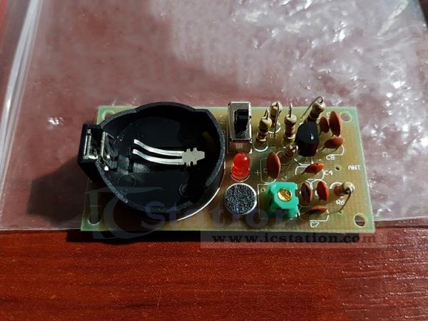 FM Wireless Microphone DIY Kits FM Radio Electronic Training