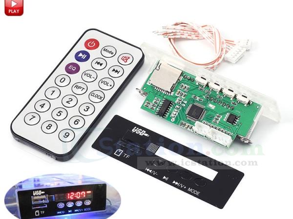 Decoder Board DC 12V LED Bluetooth MP3 FM Audio Module TF SD Card USB Radio USA