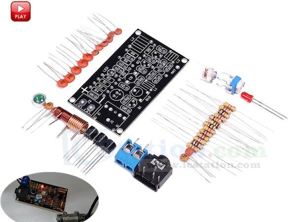 FM Wireless Microphone Suite FM Radio Transmitter Module DIY Kits