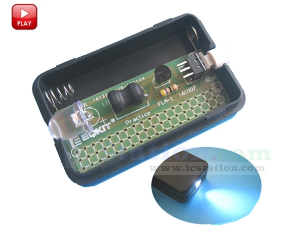 FLA-1 Simple DIY Flashlight Kit DIY Light Lamp Module Mini