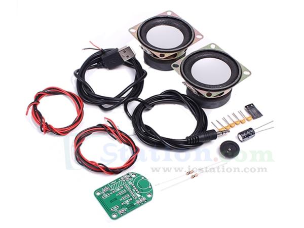 Mini AKE-1 PAM8403 Power Amplifier Speaker DIY Kit Board Audio