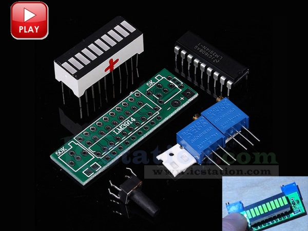 Green Electronic Diy Kits Led Display Board 3.7v Lithium Battery Capacity Indicator Module Led Power Level Tester 12v Chargers & Service Equipment