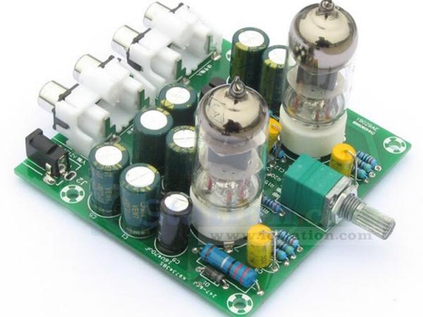 AC 12V Tube Buffer Preamplifier Preamp Board Amplifier