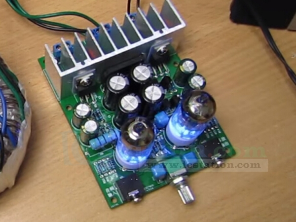 DIY Kits HIFI 6J1 Electronic Tube Amplifier Board Headphones