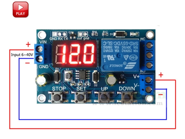 Battery Charger Discharger Board Undervoltage Overvoltage