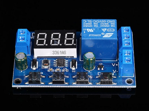 Battery Charger Controller Board Under Over Voltage Protection Module for 12V