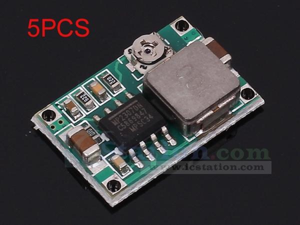 1//5pcs Step Down Module Mini 360 DC-DC 4.75V-23V To 1V-17V Buck Converter