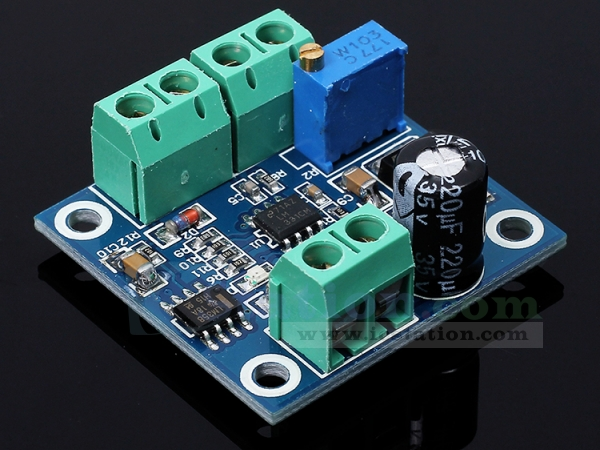 KNACRO Frequency To Voltage Module 0-1KHz frequency into 0-10V voltage 0-1KHz To 0-10V
