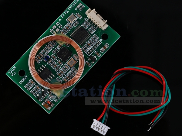 Dual Frequency Read/Write RFID Reader Writer Wireless Module UART