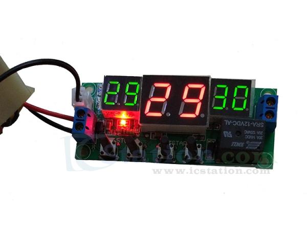Small Digital thermostat Temperature Control Switch 12V sensor Module 50-110°C