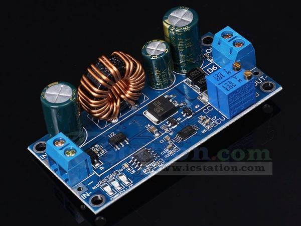 DC-DC Buck Boost Converter CC CV Output 0.5-30V Adjustable Power Supply Module K
