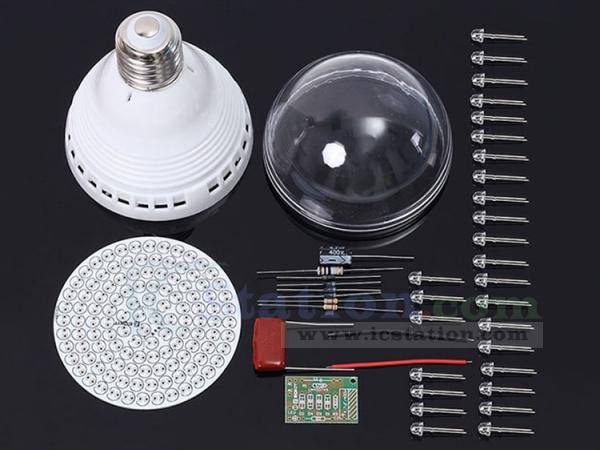 White LED Lamp Bulb PCB Light Board 120pcs LEDs Energy Saving Lamp