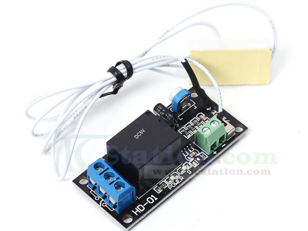 Door magnet relay module dc 5v normally closed reed switch for 12v magnetic door switch