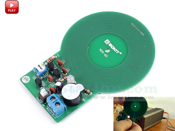 Diy Kit Metal Detector Kit Electronic Kit Dc 3v 5v 60mm
