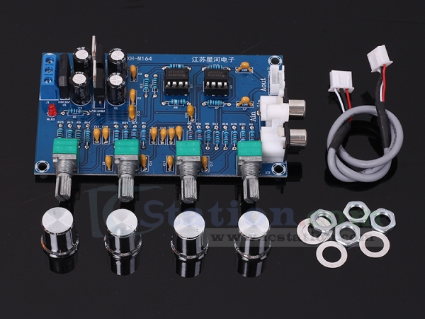XH-M164 NE5532 Tone Amplifier Board Preamplifier Power