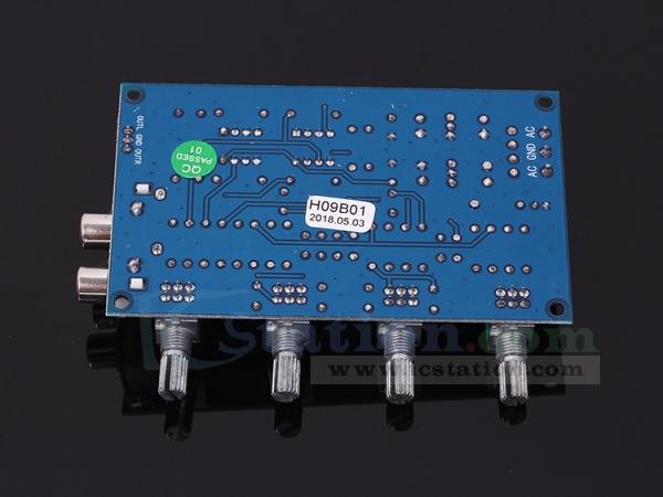 XH-M164 NE5532 Tone Amplifier Board Preamplifier Power Supply Dual