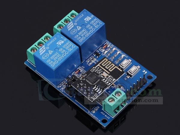 ESP8266 WiFi 5V 2 Channel Relay Module IOT Smart Home Remote