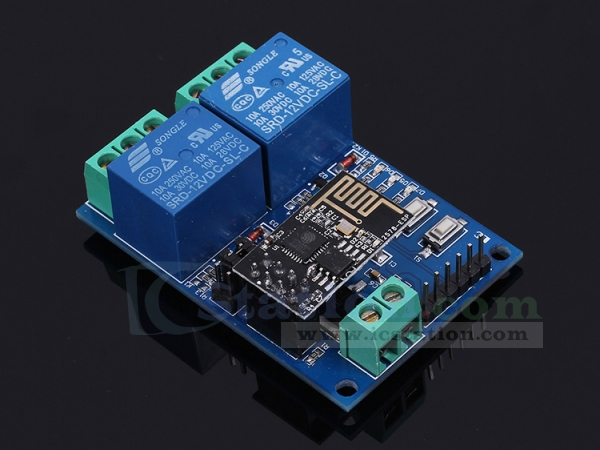 ESP8266 WiFi 12V 2 Channel Relay Module IOT Smart Home Remote