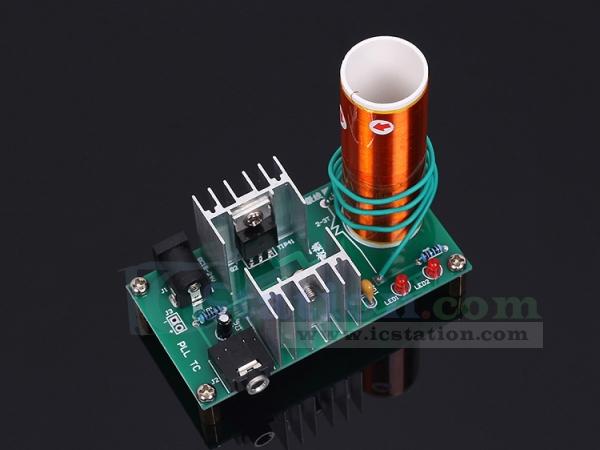 Dc 15 24v 15w Mini Music Tesla Coil Plasma Speaker Plasma