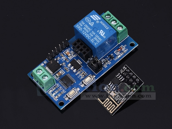 ESP8266 WiFi 12V 1 Channel Relay Module IOT Smart Home