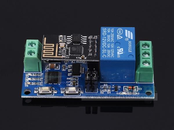 ESP8266 WiFi 12V 1 Channel Relay Module IOT Smart Home