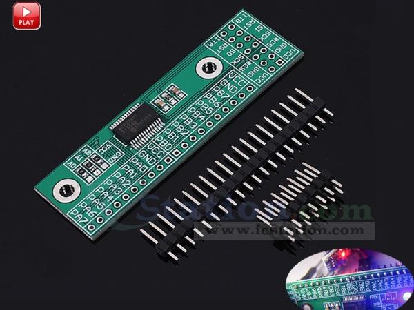 SPI Interface Converter PinBoard 16Bit I/O Extension Board Module