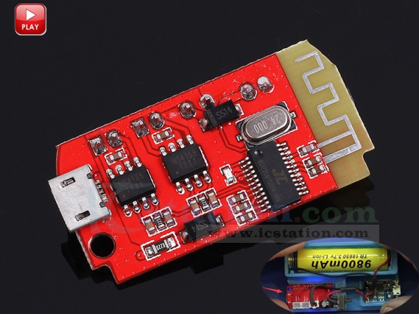 CT14 Mini Stereo Bluetooth Module BLE 4 2 Power Amplifier