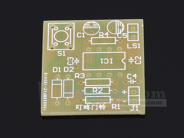 Miraculous Diy Kit Electronic Doorbell Suite Ne555 Electronic Production Wiring Cloud Rectuggs Outletorg