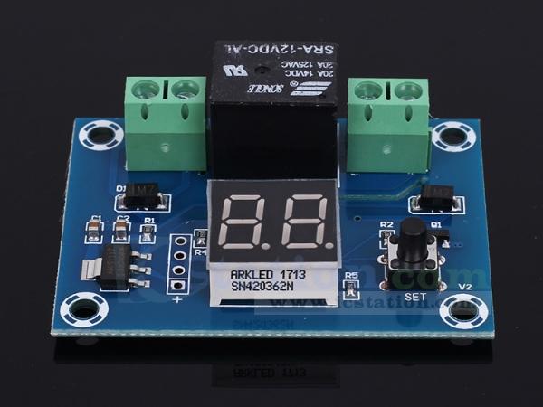 Xh M662 Dc12v Digital Timer Switch Countdown Timer Module
