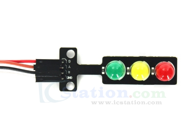 Mini Traffic Light 5V LED Display Module Red Green Yellow