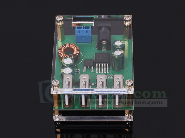 4 USB Output DC to DC Step Down Module Automatic Buck