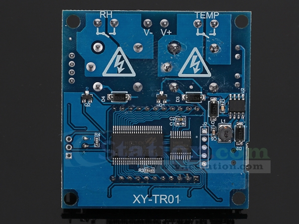 Thermostat Temperature Humidity Controller LCD Display SHT20 Sensor Relay Module