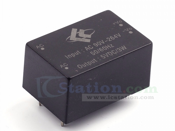 220V to 5V 600mA 3W Switch Power Supply Module AC-DC