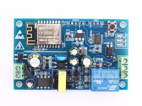 AC 220V ESP8266 WiFi Relay Module IOT Smart Home Remote Control