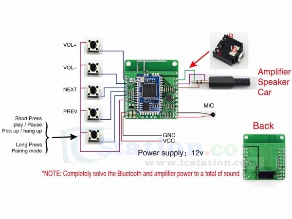 DC 12V isolated APT-X CSR8645 Lossless Music Hifi Bluetooth 4 1