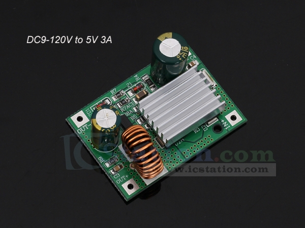 Charging Module Step-down Protection Board Mobile Power DIY 9V//12V//24V To 5V 3A