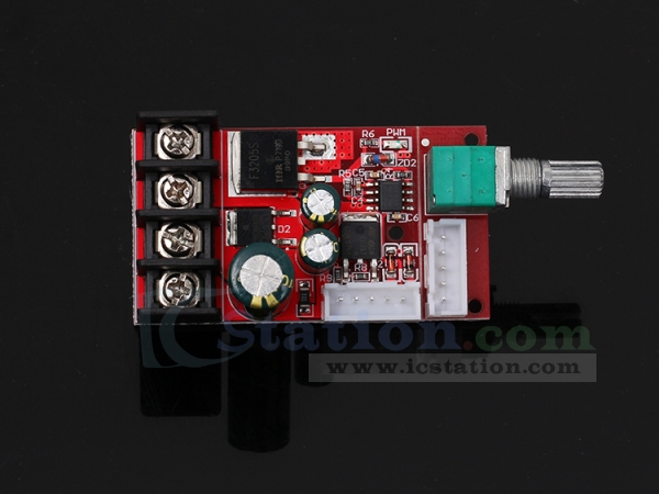 PWM Motor Speed Controller, DC LED Dimmer