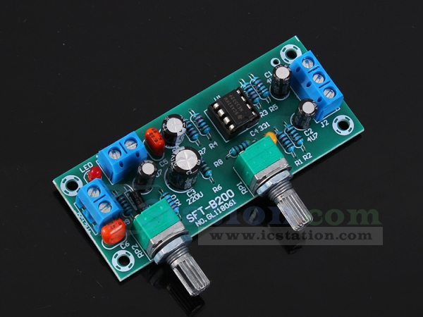 Subwoofer Preamp Board,HIFI Low Pass Filter