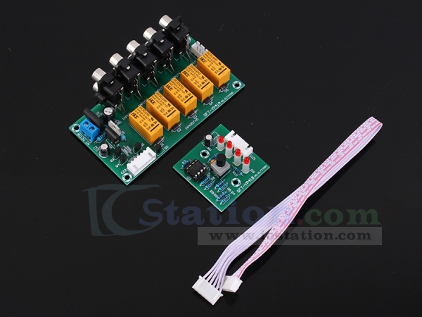 Icstation 5V Laser Recevier Sensor Module Relay Switch for Arduino Pack of 5