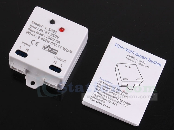 2 4G IOT Controller Wireless WIFI Smart Control Switch 5A