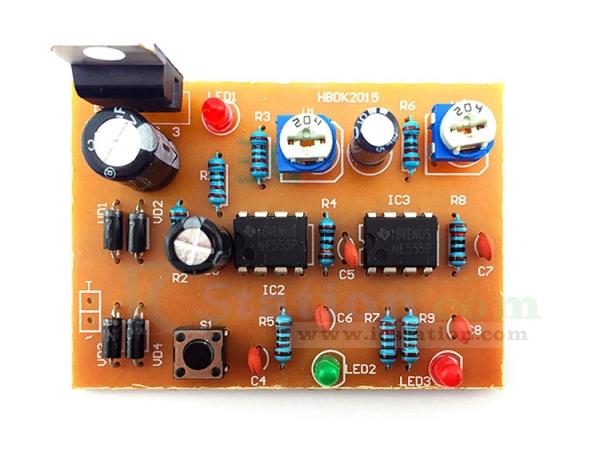 DIY Kit NE555 Trigger Circuit Electronic Components Suite - Function