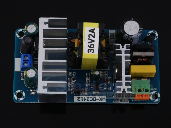 AC-DC Step Down Isolated Switching Power Supply Module Board w// Shell