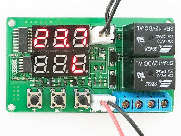DC 12V LED Digital Thermostat Temperatures Controller Temps Sensor Control Relay